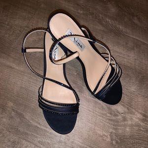 Nina New York RHINESTONES heels SZ 7.5M